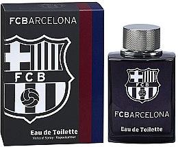 Парфюмерия и Козметика Air-Val International FC Barcelona Black - Тоалетна вода