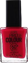 "Парфюмерия и Козметика Лак за нокти ""60 секунди"" - Avon Pro Colour In 60 Seconds Nail Enamel"