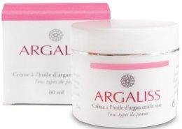 Парфюми, Парфюмерия, козметика Крем за всеки тип кожа - Argaliss Argan Oil And Rosewater Face Cream