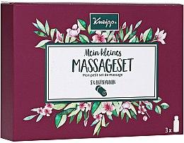 Парфюмерия и Козметика Комплект масла - Kneipp Massage Set (b/oil/3x20 ml)
