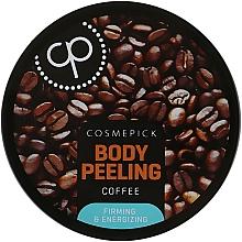 Парфюмерия и Козметика Захарен пилинг за тяло с екстракт от кафе - Cosmepick Body Peeling Coffee
