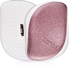 Парфюмерия и Козметика Компактна четка за коса - Tangle Teezer Compact Styler Glitter Rose