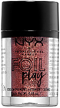 Парфюми, Парфюмерия, козметика Кремообразен пигмент за грим - NYX Professional Makeup Foil Play Cream Pigment