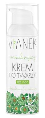 Нормализиращ нощен крем за лице - Vianek Normalizing Night Cream — снимка N1