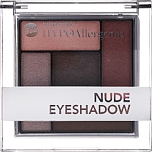 Парфюмерия и Козметика Хипоалергенни сенки за очи - Bell Hypoallergenic Nude Eyeshadow