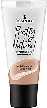 Парфюмерия и Козметика Хидратиращ фон дьо тен - Essence Pretty Natural Hydrating Foundation