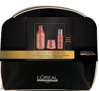 Комплект за коса - L'Oreal Professionnel Inforcer Strengthening (shm/300ml + mask/250ml + spray/60ml + bag)
