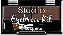 Парфюмерия и Козметика Палитра сенки за вежди - Miss Sporty Studio Eyebrow Kit