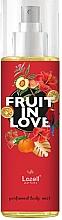 Парфюмерия и Козметика Lazell Fruit In Love - Спрей за тяло