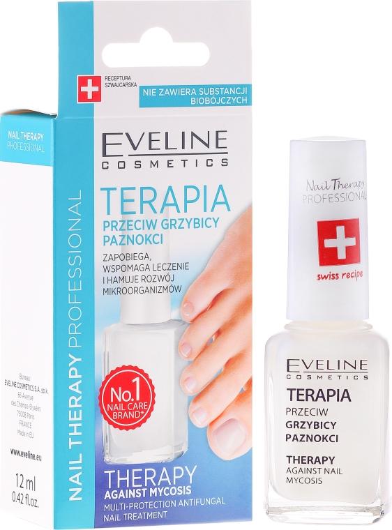 Противогъбична терапия за нокти - Eveline Cosmetics Nail Polish for Nail Fungus Feet & Hands Mykose