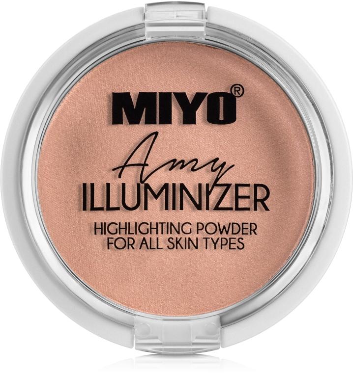 Пудра-хайлайтър - Miyo Illuminizer Highlighting Powder
