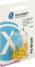Парфюми, Парфюмерия, козметика Интердентални четки - Miradent Pic-Brush Brushes Refill Yellow 0.50 мм/1.8 мм