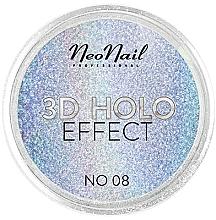 Парфюмерия и Козметика Пудра за нокти - NeoNail Professional 3D Holo Effect