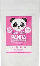 Парфюмерия и Козметика Желирани бонбони за здрава коса - Noble Health Travel Hair Care Panda Pack HCP