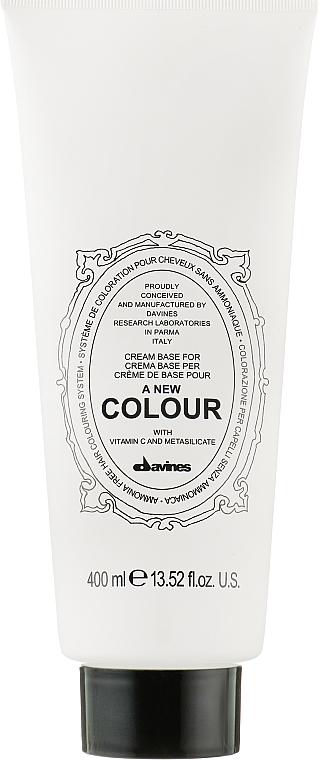 Кремова основа - Davines A New Colour Cream Base — снимка N1