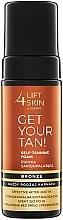 Парфюмерия и Козметика Пяна автобронзант за тяло - Lift4Skin Get Your Tan! Self Tanning Bronze Foam
