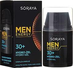 Парфюмерия и Козметика Овлажняващ и матиращ хидрогел за лице, 30+ - Soraya Men Energy