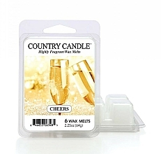 Парфюмерия и Козметика Ароматен восък - Country Candle Cheers Cheesecake Wax Melts