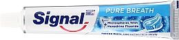 Паста за зъби - Signal Pure Breath Toothpaste — снимка N2