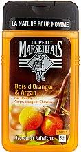 "Парфюми, Парфюмерия, козметика Душ гел ""Портокалово дърво и Арган"" - Le Petit Marseillais Men Body and Hair"
