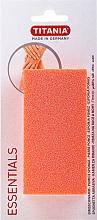 Парфюмерия и Козметика Пемза за крака, оранжева - Titania