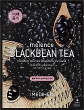 Парфюмерия и Козметика Маска за лице с екстракт от черен боб - Mediheal Meience Blackbean Tea Mask