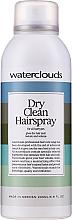 Парфюмерия и Козметика Сух шампоан за коса - Waterclouds Volume Dry Clean Hairspray