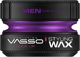 Парфюмерия и Козметика Моделиращ восък за коса - Vasso Professional Hair Styling Wax Hook Up