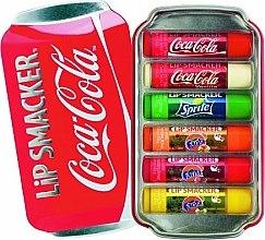 Парфюми, Парфюмерия, козметика Комплект балсами за устни - Lip Smacker Coca-Cola Flavored Lip Gloss Collection (balm/6x4g)