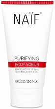 Парфюмерия и Козметика Скраб за тяло - Naif Natural Skincare Purifying Body Scrub