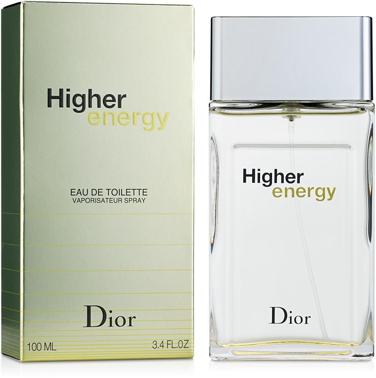 Dior Higher Energy - Тоалетна вода — снимка N2