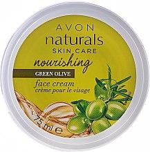"""Парфюми, Парфюмерия, козметика Овлажняващ крем за лице """"Зелена маслина"""" - Avon Naturals Skin Care"""