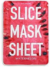 Парфюмерия и Козметика Маска за лице с екстракт от диня - Kocostar Slice Mask Sheet Watermelon