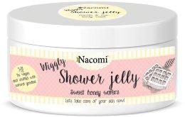 "Парфюми, Парфюмерия, козметика Душ гел ""Сладки медени гофрети"" - Nacomi Shower Jelly Sweet Honey Wafers"