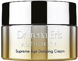 Парфюми, Парфюмерия, козметика Нощен крем за лице - Dr Irena Eris Authority Supreme Age Delaying Cream