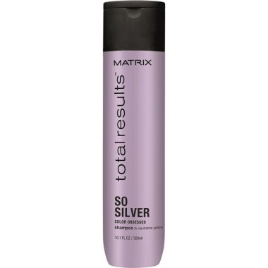 Шампоан, неутрализиращ нежеланите жълти оттенъци на косата - Matrix Total Results Color Obsessed So Silver Shampoo