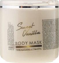 """Парфюми, Парфюмерия, козметика Маска за лице и тяло """"Сладка ванилия"""" - Hristina Cosmetics Sezmar Professional Body Mask Sweet Vanilla"""