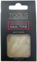 Парфюмерия и Козметика Изкуствени нокти - Gabriella Salvete Tools Nail Tips 48