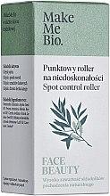 Парфюмерия и Козметика Точков рол-он против несъвършенства с чаено дърво - Make Me Bio Face Beauty Spot Control Roller