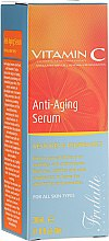 Парфюми, Парфюмерия, козметика Серум за лице с витамин С - Frulatte Vitamin C Anti-Aging Face Serum