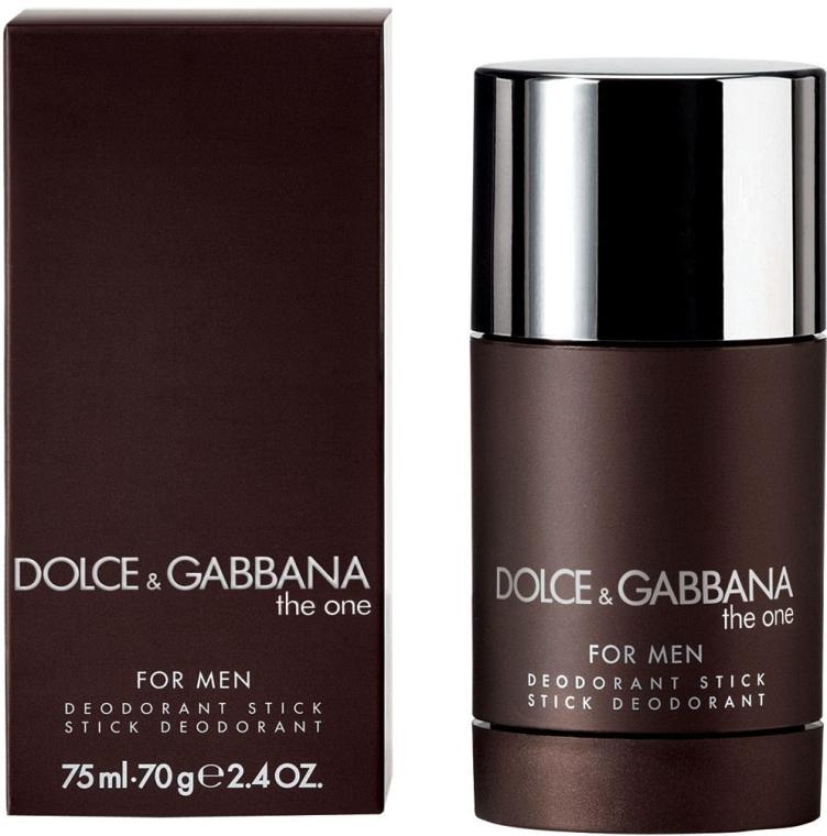 Dolce & Gabbana The One for Men - Стик дезодорант — снимка N1