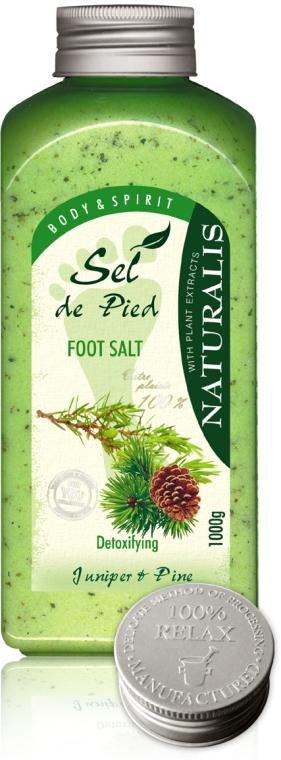 Солева ваничка за крака - Naturalis Sel de Pied Juniper And Pine Foot Salt