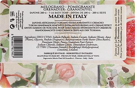 """Сапун """"Нар"""" - La Florentina Pomegranate Bath Soap — снимка N2"""
