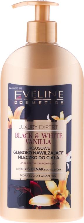 Овлажняващо мляко за тяло - Eveline Cosmetics Luxury Expert Body Milk