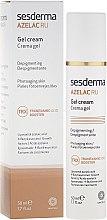 Парфюмерия и Козметика Депигментиращ крем-гел за лице - SesDerma Laboratories Azelac Ru Gel Cream