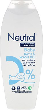 Детски гел за вана - Neutral Baby Bath & Wash Gel — снимка N1