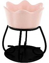 Парфюмерия и Козметика Керамична арома лампа, розова - Yankee Candle Petal Bowl
