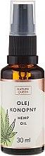 Парфюмерия и Козметика Козметично масло от конопено семе - Nature Queen Hemp Oil