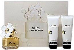 Парфюми, Парфюмерия, козметика Marc Jacobs Daisy - Комплект (edt/50ml + bl/75ml + sg/75)