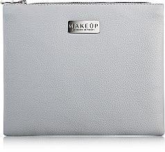 """Парфюми, Парфюмерия, козметика Козметична светло сива чанта """"Lofty"""" - MakeUp"""